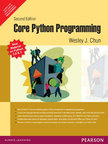 9788131711880: [(Core PYTHON Programming)] [by: Wesley J. Chun]