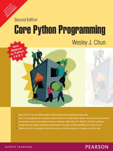9788131711880: [(Core PYTHON Programming)] [by: Wesley J. Chun]
