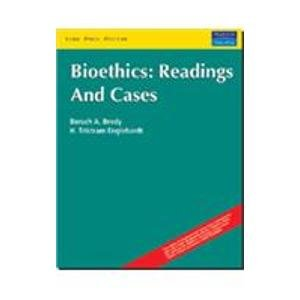 9788131712658: Bioethics: Readings and Cases