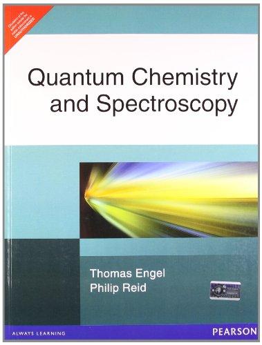 9788131712856: Quantum Chemistry and Spectroscopy (Livre en allemand)