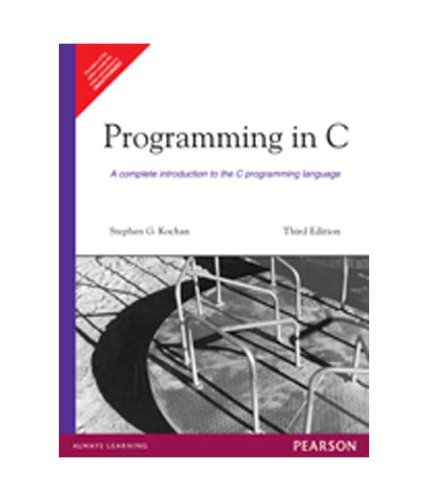 9788131713518: Programming in C, 3e