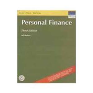 9788131713716: Personal Finance, 3/e