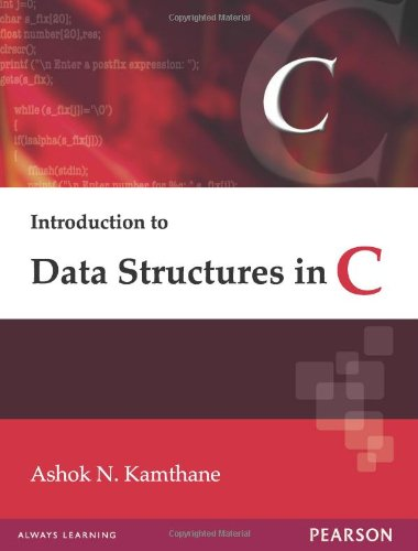 9788131713921: Introduction to Data Structures in C