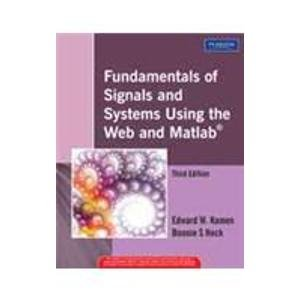 9788131714690: Fundamentals of Signals and Systems Using the Web and MATLAB