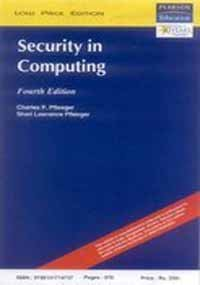 9788131714737: Security in Computing, 4/e