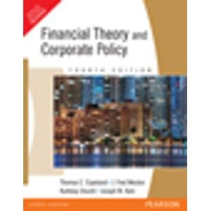 9788131715246: Financial Theory and Corporate Policy