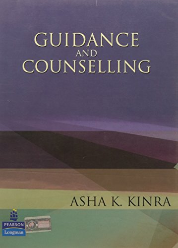Guidance and Counselling: Asha K. Kinra,Jai Narain Vyas
