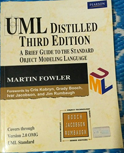 9788131715659: UML Distilled 3/e