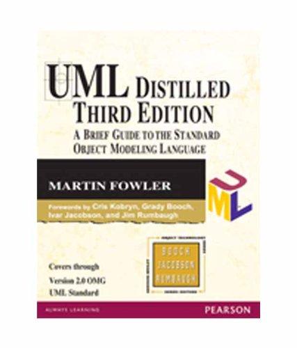 9788131715659: UML Distilled 3/e