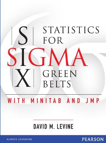 9788131716359: Statistics for Six Sigma Green Belts