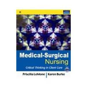 9788131716588: Medical-Surgical Nursing: Critical Thinking in Client Care, Single Volume