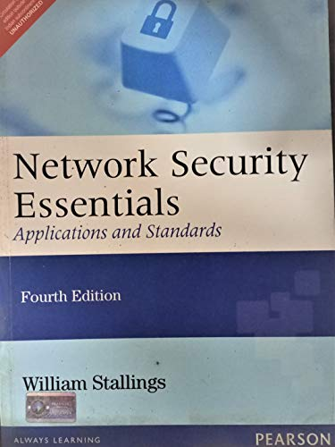 Network Security Essentials: Applications and Standards: William Stallings