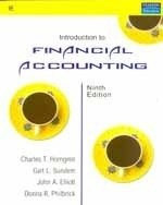 Introduction To Financial Accounting: Horngren