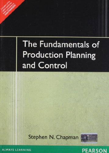9788131717394: Fundamentals of Production Planning & Control