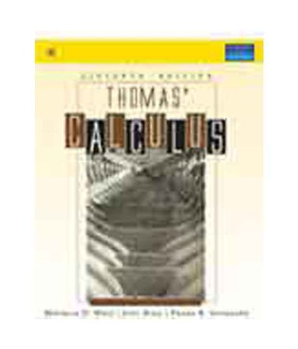 9788131718674: Thomas Calculus, 11/e