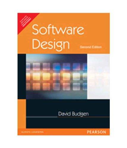 Software Design (Second Edition): David Budgen