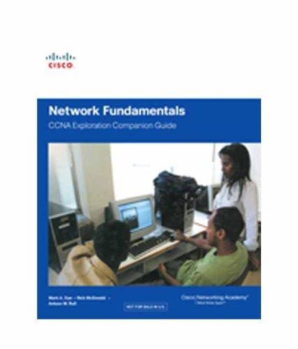 9788131719824: Network Fundamentals, CCNA Exploration Companion Guide, 2/e