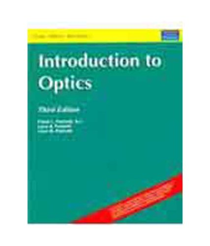 9788131720240: Introduction to Optics, 3/e