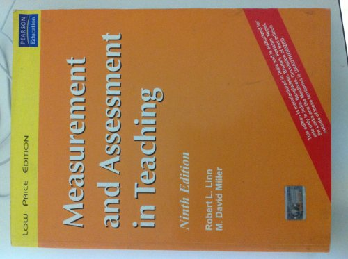 Measurement and Assessment in Teaching (Ninth Edition): David M. Miller,Dr Daniel M. Cable,Robert L...