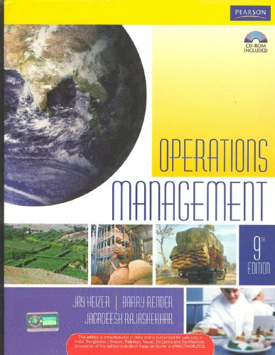 Production & Operations Management: Books