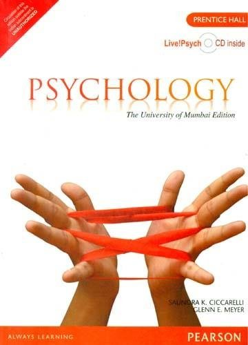 Psychology: The University of Mumbai Edition: Glenn E. Meyer,Saundra K. Ciccarelli