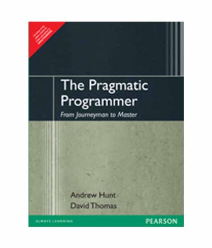 9788131722428: The Pragmatic Programmer : From Journeyman to Master 1st Edition