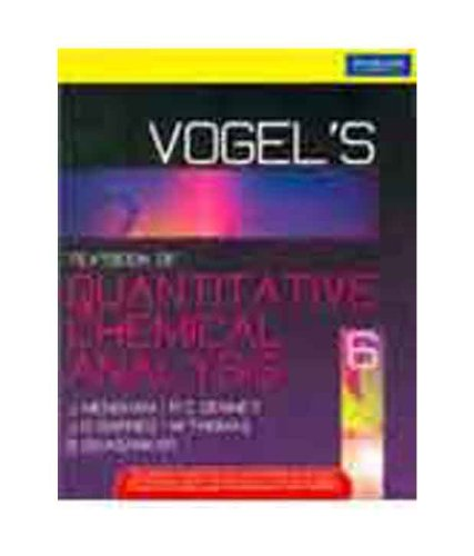 Vogel`s Quantitative Chemical Analysis (Sixth Edition)