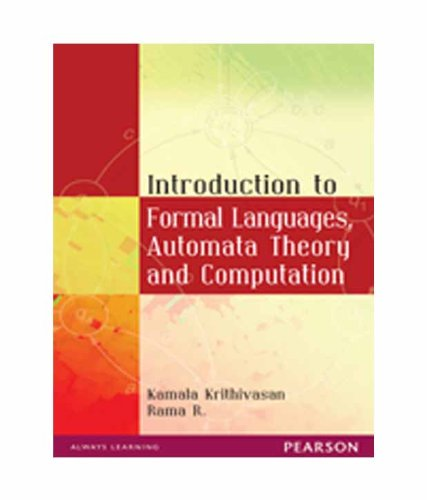 Introduction To Formal Languages, Automata Theory: Kamala Krithivasan &