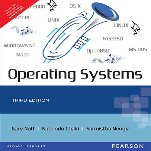 Operating systems (3rd edition) by gary nutt: addison wesley.