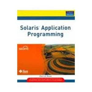 9788131723760: Solaris Application Programming, 1/e