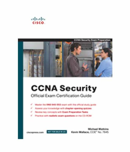 9788131724200: CCNA Security Official Exam Certification Guide (Exam 640-553)