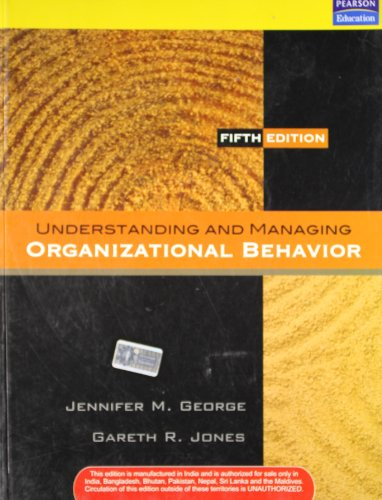 9788131724965: Understanding and Managing Organizational Behavior, 5/e