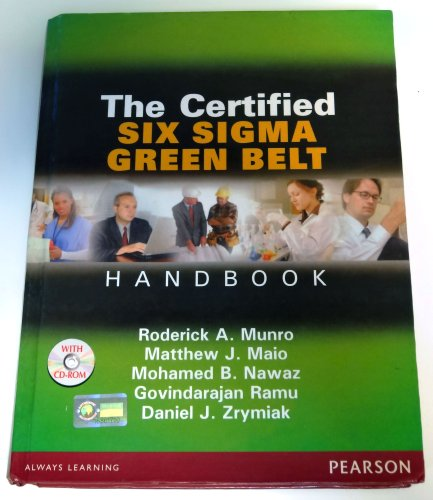 9788131725696: The Certified Six Sigma Green Belt Handbook (CD-ROM Included)