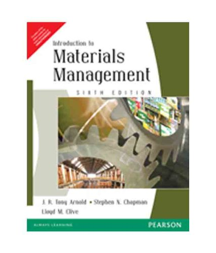 9788131726273: INTRODUCTION TO MATERIALS MANAGEMENT