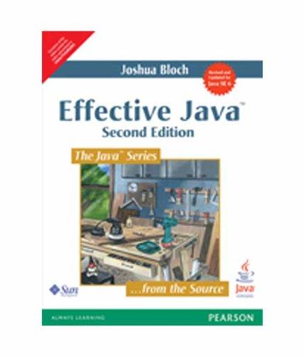 9788131726594: Effective Java, 2/e