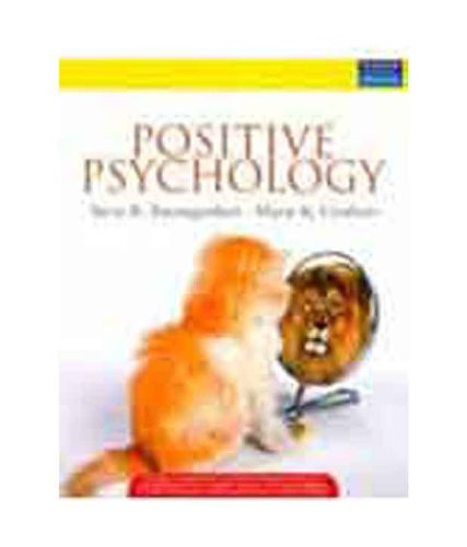 9788131726983: Positive Psychology