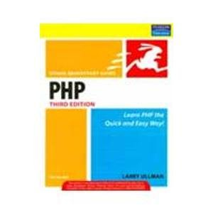 9788131727027: PHP for the Web: Visual QuickStart Guide, 3/e