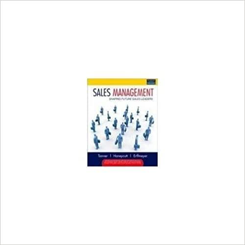 Sales Management: Earl D. Honeycutt,Jeff Tapper,Robert C. Erffmeyer