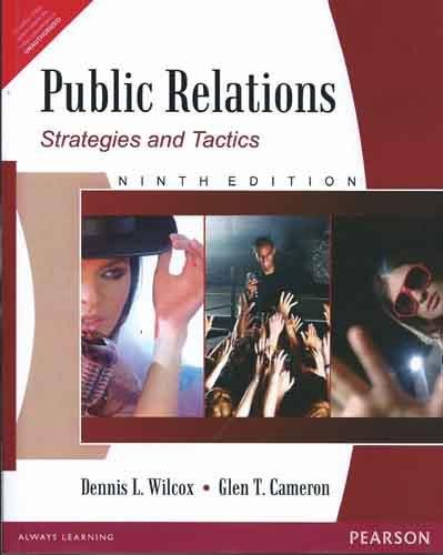 9788131727430: Public Relations: Strategies and Tactics, Study Edition (9th Edition)