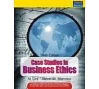 9788131727560: Case Studies in Business Ethics