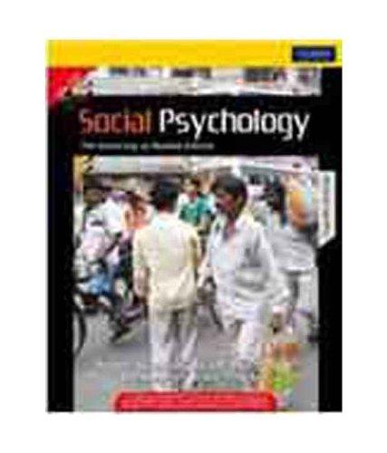 Social Psychology: Mumbai University (Twelfth Edition): Nyla R. Branscombe,Robert A. Baron