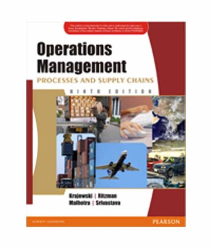 Operations Management: Processes and Supply Chains (Ninth: Larry P. Ritzman,Lee
