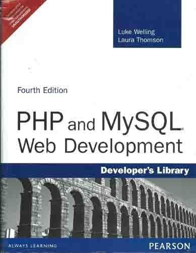 9788131729878: PHP and MySQL Web Development, 4/e