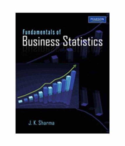 Fundamentals of Business Statistics: J.K. Sharma