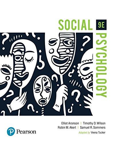 Download Social Psychology, 9th ed.