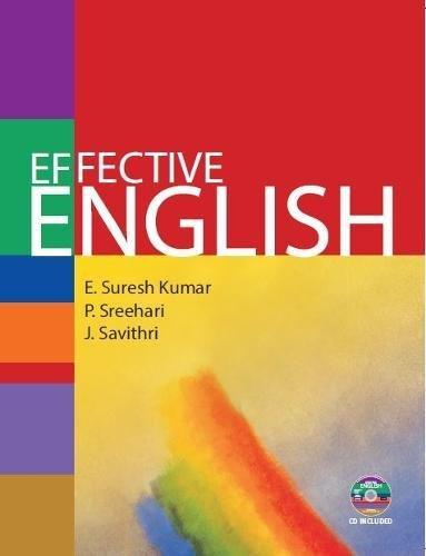 Effective English: Kumar, E. Suresh;