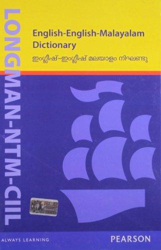 9788131731284: Longman-NTM-CIIL English-English-Malayalam Dictionary