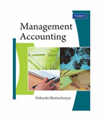 Management Accounting: Debarshi Bhattacharyya