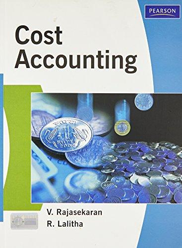 Cost Accounting: Rajasekaran