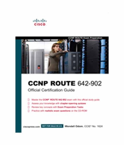 9788131733035: CCNP ROUTE 642-902 Official Certification Guide (Exam Certification Guide)